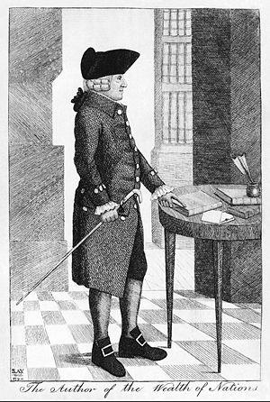 Adam Smith; engraving
