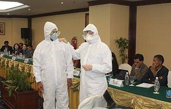English: Asiavision safety training, April 2011