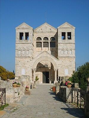 English: Catholic Church of the Transfiguratio...