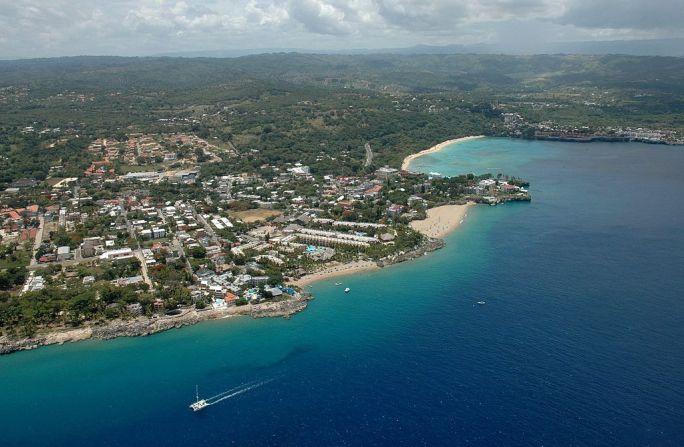 City of Sosua, Dominican Republic, Aerial View