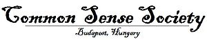 English: Official logo of Common Sense Society...