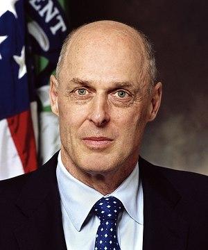 Henry Paulson, Secretary of the Treasury of th...