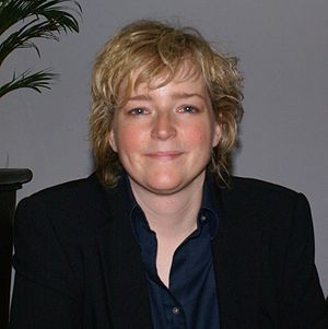 English: Karin Slaughter at a reading in Ahlen...