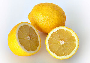 Lemons, oranges, and other citrus fruits conta...