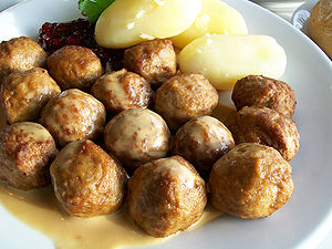 MEATBALLS! How typical! Considering we are, uh...
