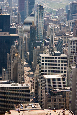 English: Michigan Avenue (Chicago)