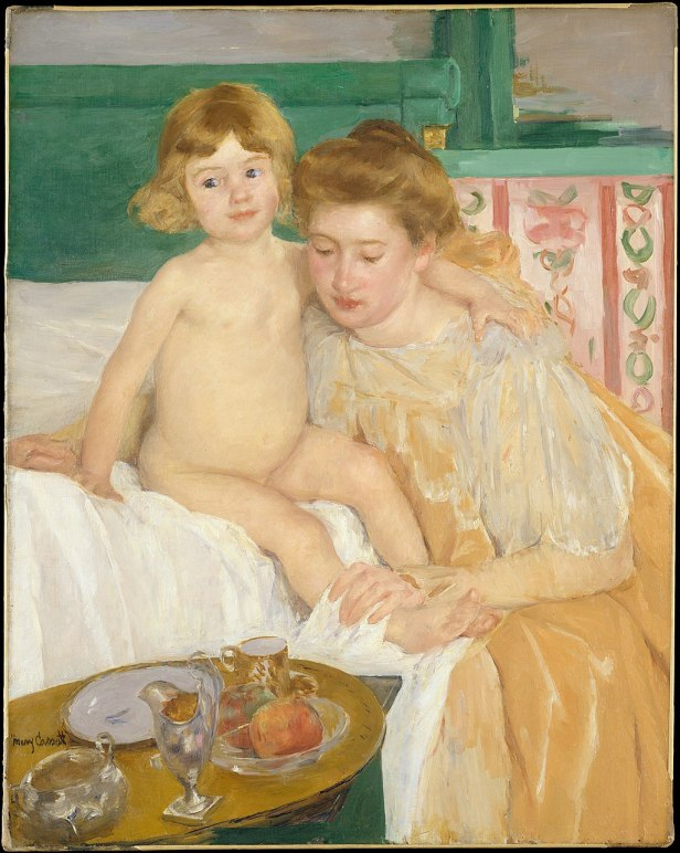 """Mother and Child"" by Mary Cassatt"