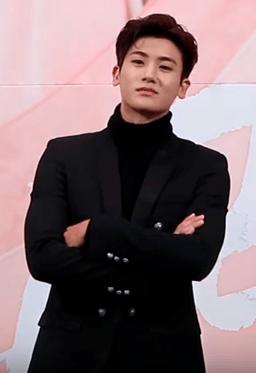Park Hyung-sik at Hwarang Press Conference 02