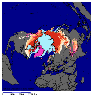 Location of Permafrost in the Northern Hemisph...