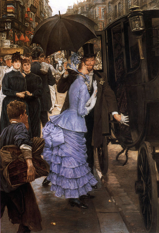 """""""The Bridesmaid"""" by James Tissot"""