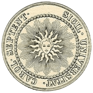original seal of the University of North Carol...