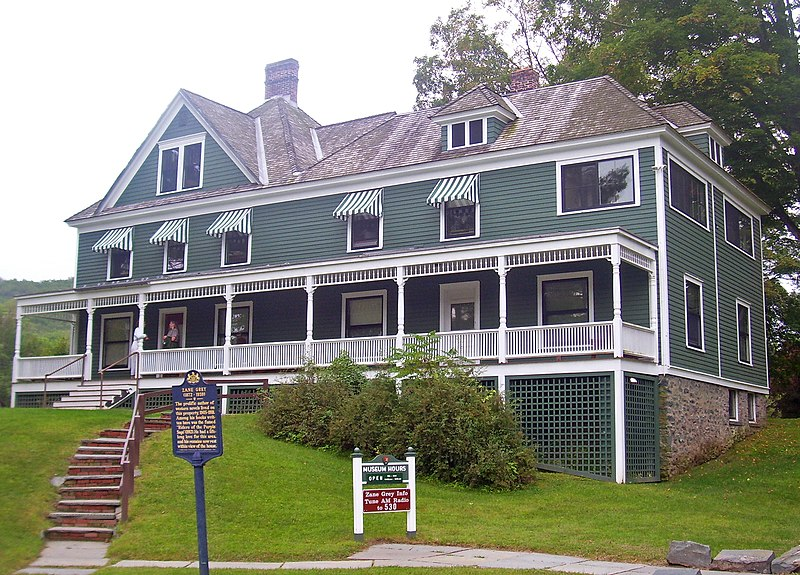 File:Zane Grey House, Lackawaxen, PA.jpg