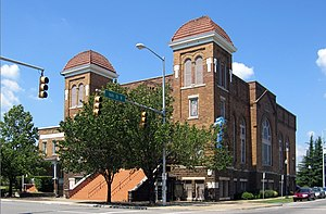 English: 16th Street Baptist Church in Birming...