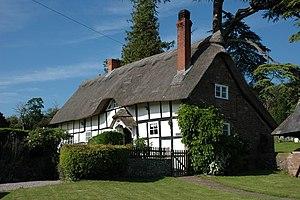 English: Church Cottage, Stretton Grandison At...