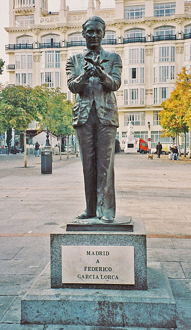 Statua di Federico García Lorca
