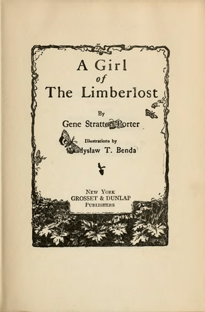 Girl of the Limberlost Title page