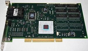 English: IBM Turboways ATM 155 PCI network int...