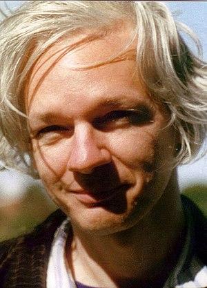English: Julian Assange, photo