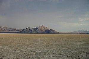 Old Razorback Mountain at the Black Rock Desert