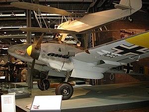 Messerschmitt Bf 110 at Deutsches Technikmuseu...
