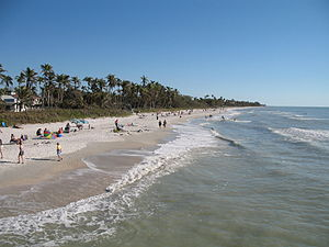 Naples, Florida: the beach