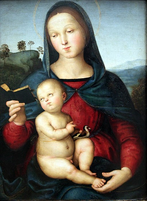 """Solly Madonna"" by Raphael"
