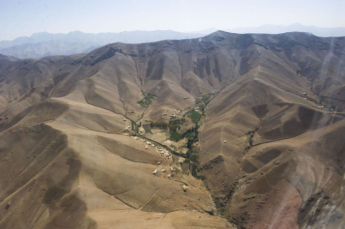 A small village in the mountains of southern Afghanistan-2