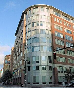 Akamai Technologies headquarters in Cambridge....