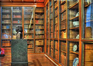 Bookcases in the King's Library, The British M...