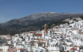 Cómpeta - a town in the Axarquía