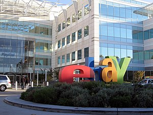 English: Ebay and PayPal headquarters located ...