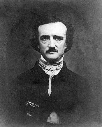 1848 Daguerreotype of Edgar Allan Poe at 39, a...