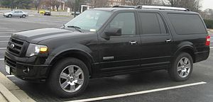 2007-2008 Ford Expedition photographed in Coll...