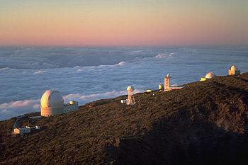 Roque de los Muchachos Observatory, an astrono...