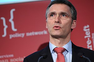 Picture of Pirme Minister of Norway, Jens Stoltenberg