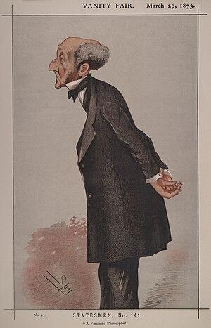 Statesmen No.141: Caricature of Mr John Stuart...