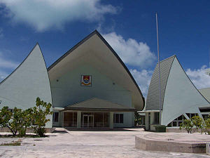 Parliament House, Kiribati