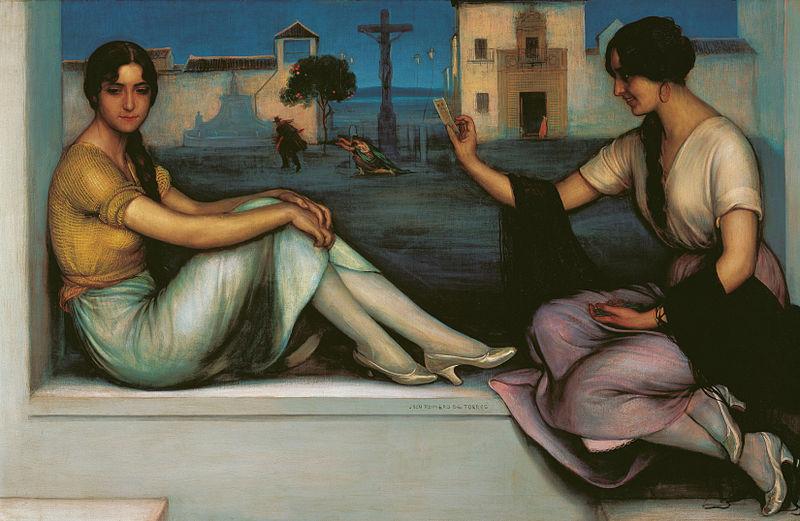 File:La Buenaventura by Julio Romero de Torres.jpg