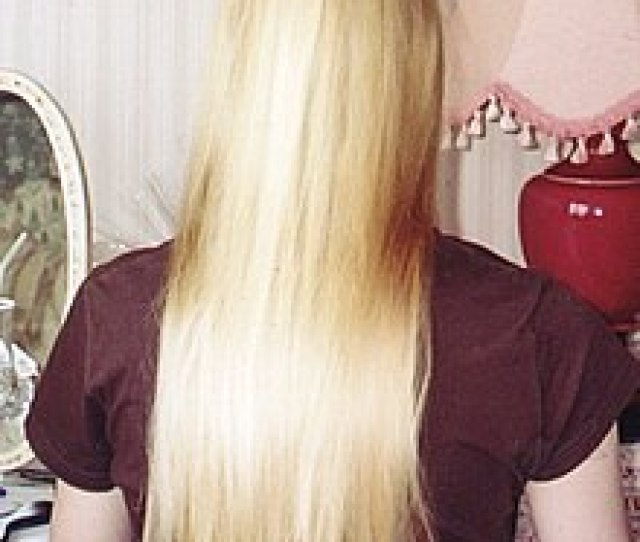 A Woman With Long Blond Hair
