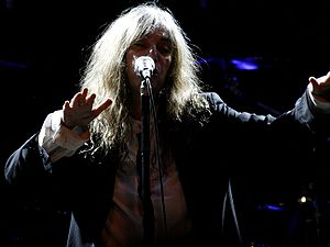 Patti Smith performing at The Roundhouse, Lond...