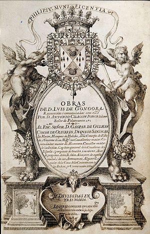 Portada del Manuscrito Chacón de las obras de ...