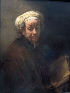 Self-portrait as the Apostle Paul (by Rembrandt)