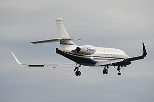 English: Dassault Falcon 2000EX C-FDBJ of Star...