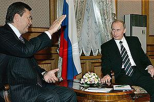 President Putin visits Ukraine and Prime Minis...