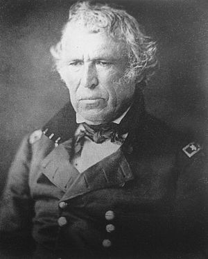 General Zachary Taylor in uniform