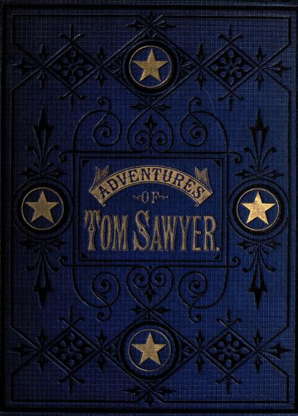 File:1876. The Adventures of Tom Sawyer.djvu