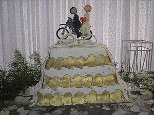 English: Cake Português: Bolo