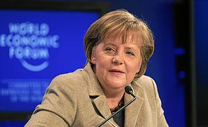 DAVOS/SWITZERLAND, 28JAN11 - Angela Merkel, Fe...