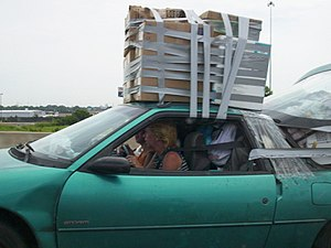 Duct-tape Moving Van