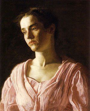 Thomas Eakins. Portrait of Maud Cook, 1895. Oi...